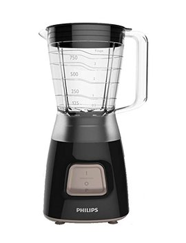 Philips Hr2052/91 Daily Collection Blender, 1.25 Litre, 350 W, Black by Philips