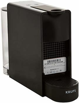 Nespresso Essenza Mini Coffee Machine With Aeroccino, Black By Krups by Nespresso