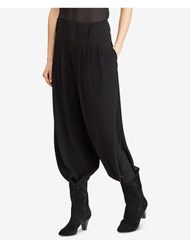 Double Faced Harem Pants by Polo Ralph Lauren