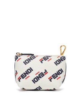 Mania Leather Make Up Bag by Fendi