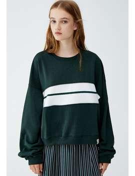 Mit Colour Block In Der Mitte    Sweatshirts by Pull&Bear