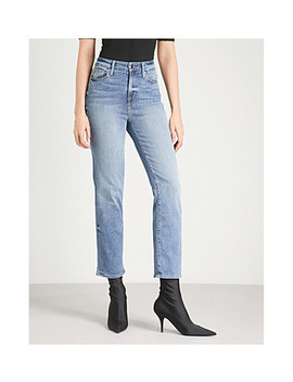 Good Legs Slim Fit Skinny Stretch Denim Jeans by Good American
