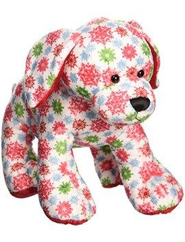 "Webkinz Snowflake Pup Plush Toy, 8.5"" by Webkinz"