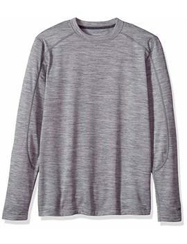 Terramar Men's Thermawool Merino Wool Long Sleeve Crew by Terramar