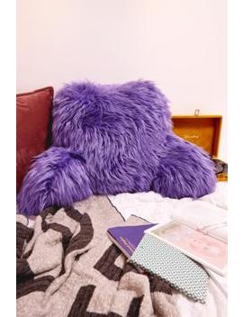 Furry Boo Cushion by Urban Outfitters