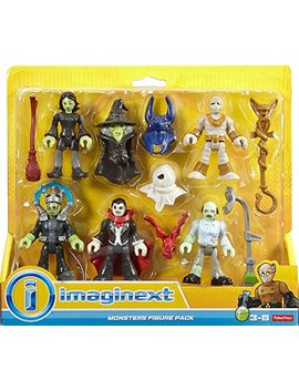 Fisher Price Imaginext Mini Figures, Halloween by Fisher Price