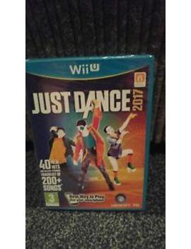 Nintendo Wii U Game Just Dance 2017 by Ebay Seller