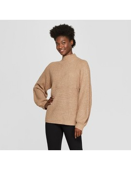 Women's Funnel Neck Pullover Sweater   A New Day™ by A New Day™