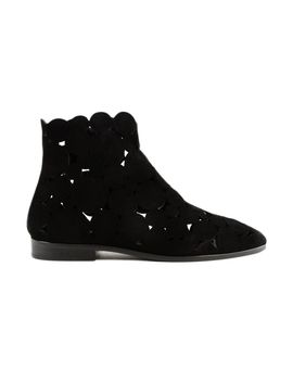 Flat Ankle Boots by Alaia