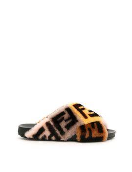 Fur Logo Slides by Fendi