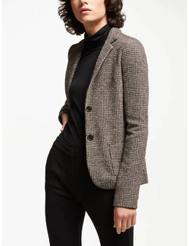 Weekend Max Mara Tweed Jacket, Dark Brown by Weekend Max Mara