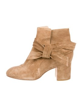 Suede Round Toe Ankle Boots by Rag & Bone