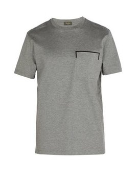 Chest Pocket Cotton T Shirt by Berluti