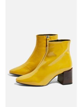 Marlene Mid Heel Boots by Topshop