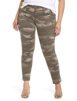Flex Ellent Camo Cargo Pants by Wit & Wisdom