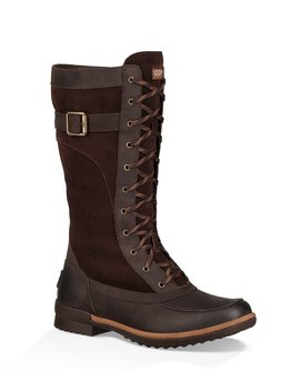 Ugg® Brystl Tall Waterproof Leather And Suede Boots by Ugg