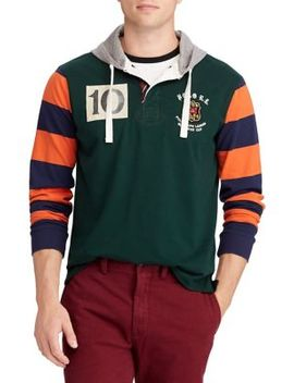 Classic Fit Rugby Hoodie by Polo Ralph Lauren
