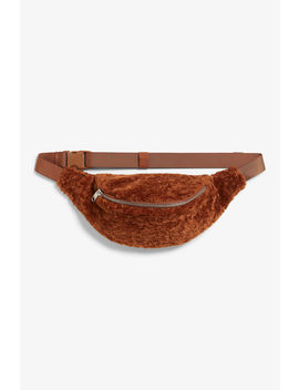 Faux Fur Fanny Pack by Monki