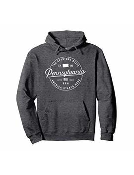 Warm Pennsylvania Hoodie Hooded Sweatshirt Women Men Sweater by Pennsylvania Hoodies & Sweatshirts