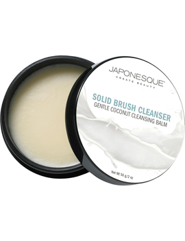 Japonesque Solid Brush Cleaner   Coconut 56g by Japonesque