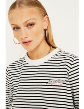 Santa Cruz Oval Dot Stripe Long Sleeve T Shirt by Santa Cruz