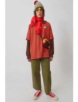 Chino Trousers Khaki Green by Acne Studios