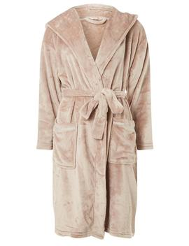 Petite Pink Well Soft Robe by Dorothy Perkins