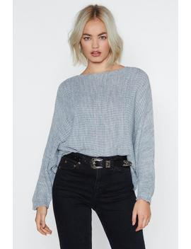 Batwing Sweater by Nasty Gal