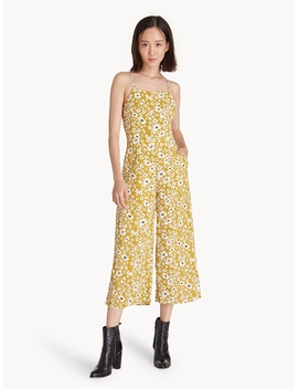 strap-back-daisy-jumpsuit---yellow by pomelo
