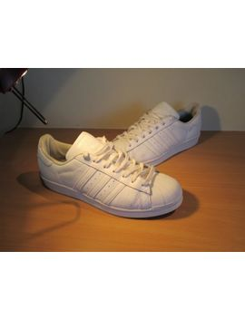 """Adidas.""""Supers<Wbr>Tar""""..Mens Trainers/Casua<Wbr>L Shoes...Size 11 (46).Clean Little Worn by Ebay Seller"""