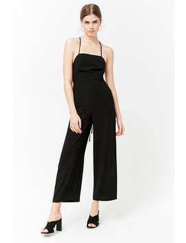 Strappy Wide Leg Jumpsuit by Forever 21