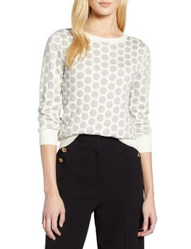 X Atlantic Pacific Shimmer Dot Sweater by Halogen®