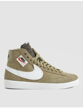 W Blazer Mid Rebel In Neutral Olive by Nike