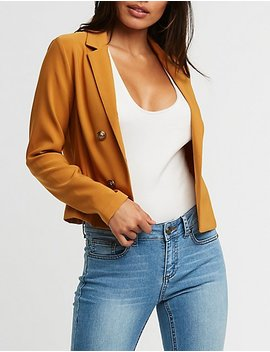 Double Breasted Blazer by Charlotte Russe