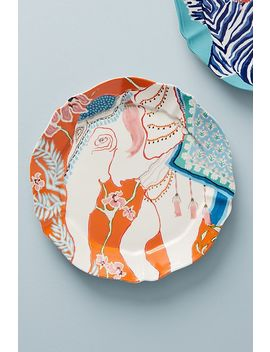 Eastern Animal Dessert Plate by Paige Gemmel