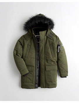 Down Blend Parka by Hollister