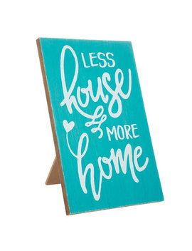 Less House More Home Wood Decor by Hobby Lobby