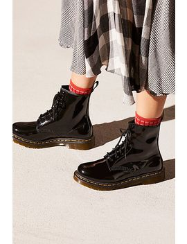 Dr. Martens 1460 W High Shine Boot by Free People