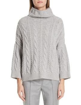 Fungo Wool & Cashmere Turtleneck Sweater by Max Mara