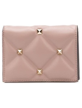 Valentio Garavani Candystud French Flap Wallet by Valentino