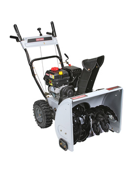 """Craftsman 88781 24"""" 208cc Electric Start Dual Stage Snow Thrower Craftsman 88781 24"""" 208cc Electric Start Dual Stage Snow Thrower by Sears"""