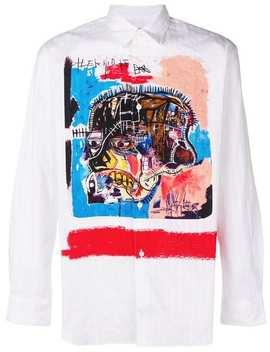 Basquiat Print Shirt by Comme Des Garçons Shirt