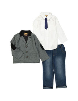 Three Piece Blazer Outfit by Little Gent
