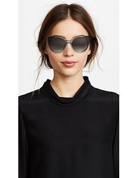 Soft Feminine Cat Eye Sunglasses by Gucci