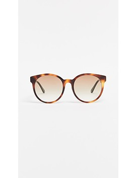 Acetate Round Sunglasses by Gucci