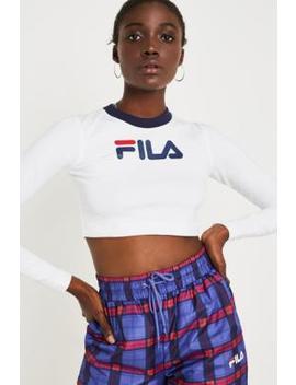 Fila Tahlia Long Sleeve Crop T Shirt by Fila