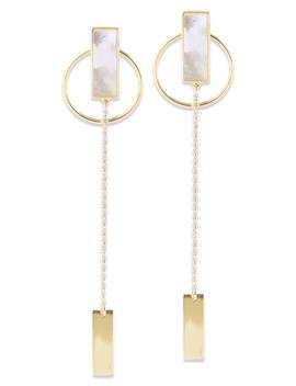 Stone Drop Earrings by Argento Vivo