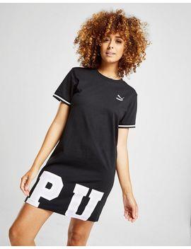 Puma Robe T Shirt Hem Logo Femme by Puma