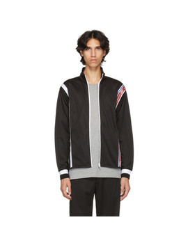 Black New Hem Track Jacket by Givenchy