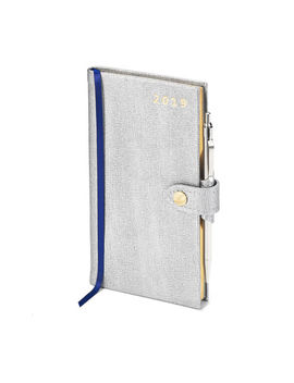 2019 Slim Pocket Diary With Pen by Aspinal Of London